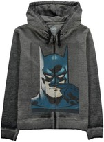 Little Eleven Paris Batman Moustache Zipped Hoodie