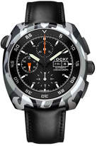 Tockr Watches Air Defender Camouflage Chronograph Leather Watch