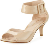 Pelle Moda Belin Low-Heel Dressy Sandal