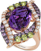 LeVian Le Vian Crazy Collection Multi-Stone Ring (7 ct. t.w.) in 14k Rose Gold, Created for Macy's
