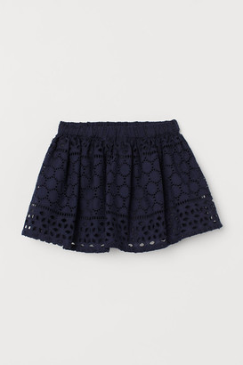 H&M Skirt with broderie anglaise