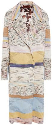 Missoni Knitted Linen-blend Coat