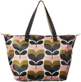 Orla Kiely Stripe Rosebud Zip Shopper - Large
