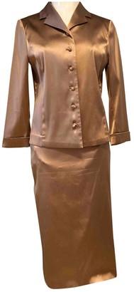 Barneys New York Metallic Silk Jumpsuit for Women