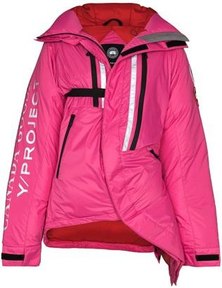 Y/Project x Canada Goose Skreslet oversized puffer jacket