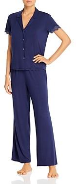 Josie Solid Bardot Essentials Pajama Set