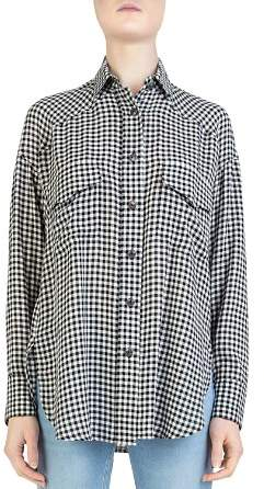The Kooples Vichy Button-Down Gingham Shirt