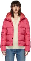 Moncler Pink Down Lena Jacket