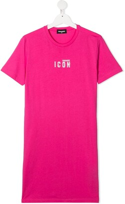 DSQUARED2 TEEN Icon T-shirt dress