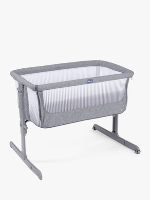 Chicco Next 2 Me Air Bedside Crib, Titanium
