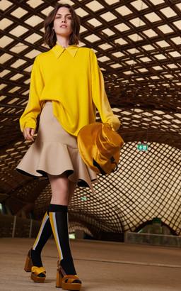 Dorothee Schumacher Fine Lines Silk Sleeveless Top