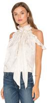 Rachel Zoe Nashua Cold Shoulder Blouse