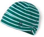 Classic Women's 100 Fleece Pattern Hat-Drake Green Stripe