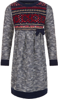 Monsoon Farrah Fairisle Knitted Dress