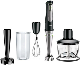De'Longhi Delonghi Multiquick 9 Hand Blender With Activeblade Technology & 2-Cup Chopper