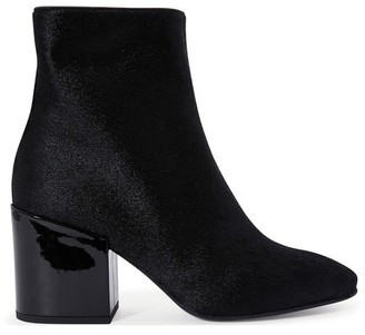Dries Van Noten Fur ankle boots