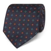 Drake's - 7cm Patterned Silk Tie