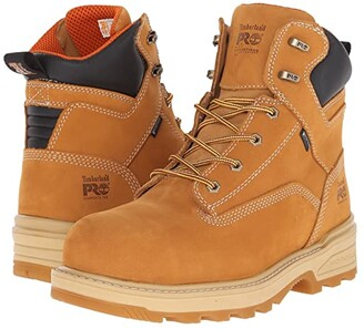 Timberland 6 Resistor Composite Safety Toe Waterproof Insulated Boot (Wheat) Men's Work Boots