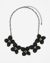 Le Château Gem Flower Bib Necklace