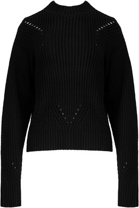 SIR the Label Franca Pointelle Sweater