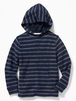 Old Navy Striped French-Terry Pullover Hoodie for Boys