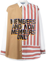 Stella McCartney 'Member and Non Members Only' shirt
