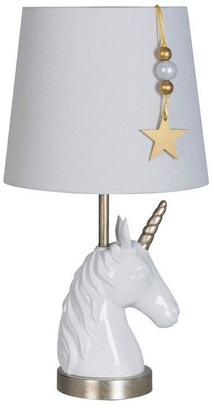 Lamps Per Se' Unicorn Star Polyresin Table Lamp Set of 2