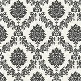Graham & Brown 56 sq. ft. Costello Black Wallpaper
