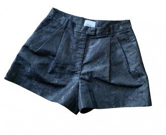 3.1 Phillip Lim Anthracite Shorts for Women