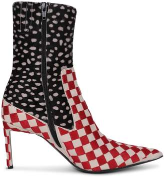 Haider Ackermann Patterned Boots