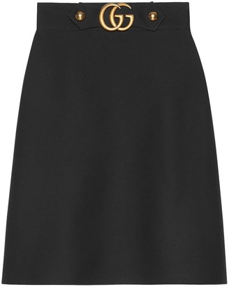 Gucci GG knee-length skirt