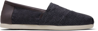 Charcoal Herringbone Mens Classics ft. Ortholite
