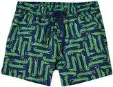 Sunuva Crocodile UPF 50+ Swimshorts (Baby) - Dark Blue - 3-6