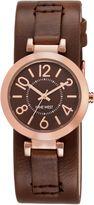 Nine West Brown PU Strap Watch