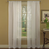 Laura Ashley Diane 2-Pack Rod-Pocket Sheer Curtain Panels