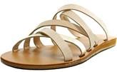 XOXO Staci Open Toe Synthetic Slides Sandal.