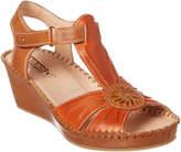 PIKOLINOS Margarita Leather Wedge Sandal