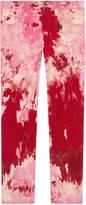 Gucci Tie-dye corduroy punk pant