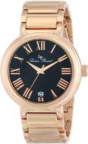 Lucien Piccard Men's LP-11313-RG-11 Marbella Analog Display Japanese Quartz Rose Gold Watch