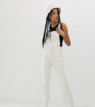 Urban Bliss cropped kick flare overalls