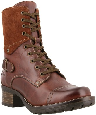 Taos Crave Leather Lace-Up Boot