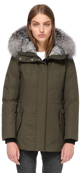 Mackage DANIKA-X SEMI-FITTED WINTER DOWN COAT WITH FUR