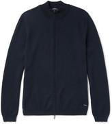 Hugo Boss - Slim-fit Cotton Zip-up Sweater