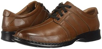 Clarks Touareg Vibe (Brown Leather) Men's Shoes