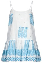 Juliet Dunn Paisley-print cotton cami dress