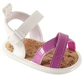 Luvable Friends Girls Bright Strappy Sandals (Infant)