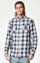 Vans Monterey Plaid Flannel Long Sleeve Button Up Shirt