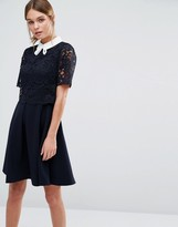 Ted Baker Dixxy Lace Double Layer Dress