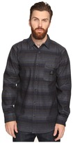 VISSLA Avalanches Long Sleeve Novelty Brushed Flannel Woven