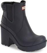 Hunter 'Original - Block Heel' Chelsea Rain Boot (Women)